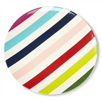 Kate Spade Multi Stripe Melamine Dinner Plate