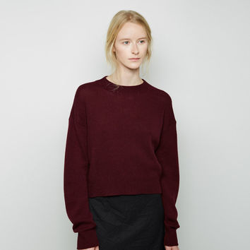 Cropped Cashmere Sweater by Marni
