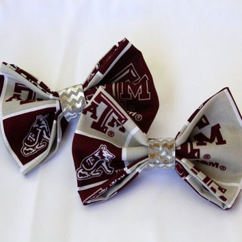 Texas A&M Clip-On Bow