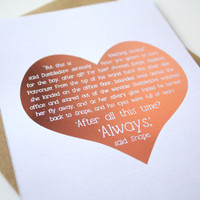 Harry Potter Card Quotes - Dumbledore and Snape After All This Time Always