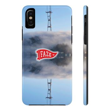 **Online Exclusive** Fog Tower Tough iPhone X Phone Case