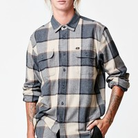 Obey Belmont Plaid Button Up Shirt - Mens Shirts - Black
