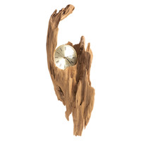 Driftwood Large Clock