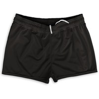 "Black Shorty Short Gym Shorts 2.5""Inseam"