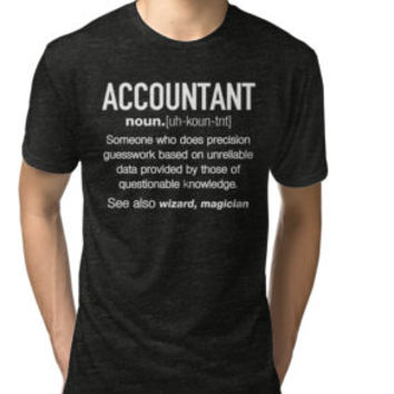 Accountant Definition Funny T-shirt by happymonkeys