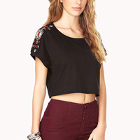 Explorer Beaded Crop Top