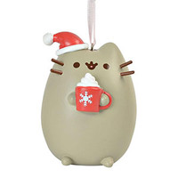 Pusheen Ornament Santa Hat and Mug