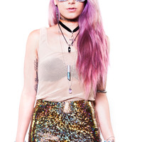 PRE-ORDER: Gold Dust Holographic Shorts