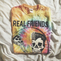 Real Friends Unicorn Tie Dye
