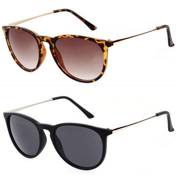 Erika Vintage Brand Designer Sunglasses 2015 fashion women sunglass cat eye sun glasses for women oculos de sol feminino