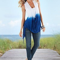 Ombre Draped Top