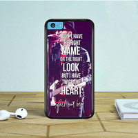 Fall Out Boy Lyrics Just One Yesterday iPhone 5 5S 5C Case Dewantary