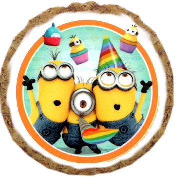 Party Minions Dog Treats - 6 Pack