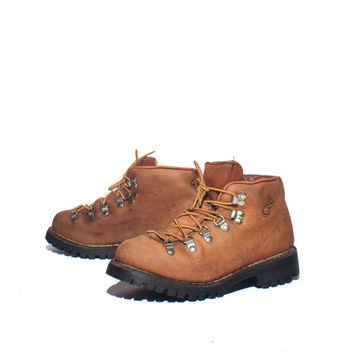 6.5 M   DEXTER Hiking Boots Brown Mountaineering Trail Boots