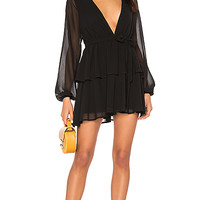 MAJORELLE Berkshire Dress in Black | REVOLVE