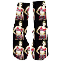 Miley Cyrus Custom Socks!