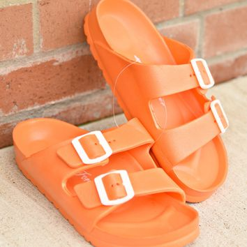 Beach Days Slides - Orange