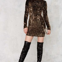 Mirage Sequin Mini Dress