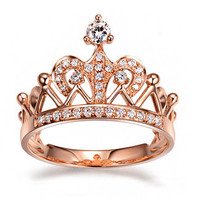 Royal Crown Rose Gold