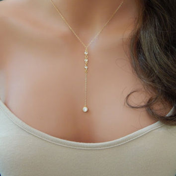 Diamonds Star Chain Stylish Simple Design Fashion Hot Sale Necklace = 4831043716