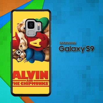 Alvin And The Chipmunks F0267 Samsung Galaxy S9 Case