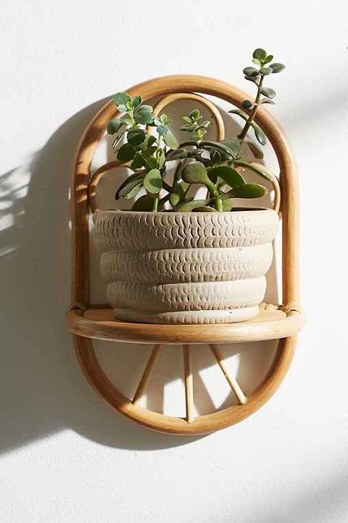 Magical thinking paz rattan wall shelf from urban outfitters