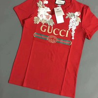 """""""Moschino """"Hot letters print T-shirt top"""