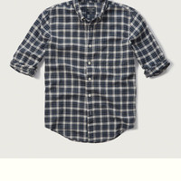 Plaid Gauze Shirt