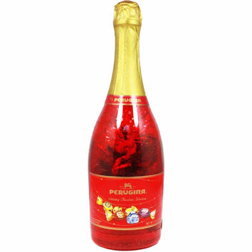 Italian Chocolate Collection in Champagne Bottle by Perugina 7oz