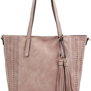 Grand City Tote - Dusty Blush