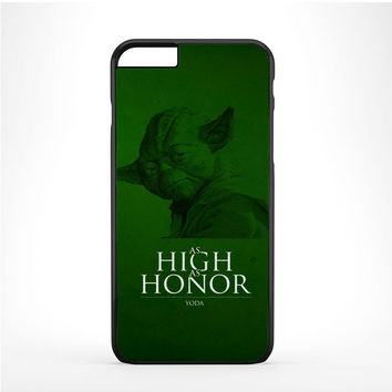 Master Yoda Star Wars As High As Honor Iphone 6 Plus | 6s Plus Case