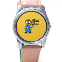 I Am The One Who Knocks | Minion Inspired Wrist Watch