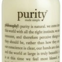 Face Cleansers Philosophy Purity Made Simple One-Step Facial Cleanser 8 oz.
