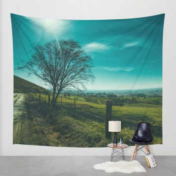 The Walk Home Wall Tapestry by Mixed Imagery