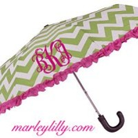 Monogrammed Umbrella | Custom Personalized Shower Gift | Marley Lilly