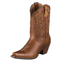 "Ariat Women's Shada 10"" Boot - Vintage Caramel"