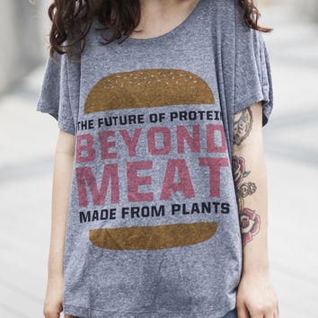 Burger Stacked Women's Tee