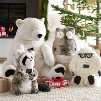Faux Fur Rockin' Plush Speaker Animals