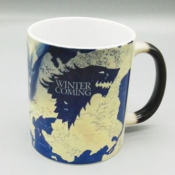Game of Thrones Magic mugs Stark Arryn Lannister Coffee Mug