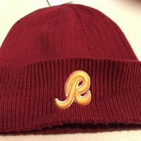 WASHINGTON REDSKINS NFL MITCHELL AND NESS CUFF WINTER KNIT HAT SHIPPING