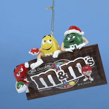 M&m's Christmas Ornament - Officially Licensed