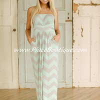 On the Boardwalk Maxi Dress