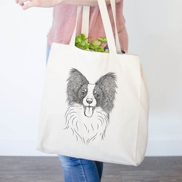 Patrick the Papillon - Tote Bag