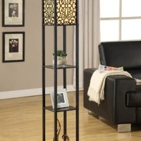 Wallace Shelf Floor Lamp