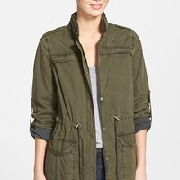 Women's Levi's Lightweight Cotton Hooded Jacket