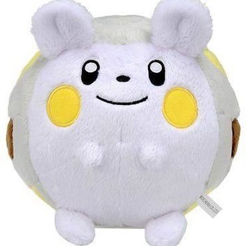 "Takaratomy Takara Tomy Pokemon Togedemaru 5"" Stuffed Plush Authentic USA Seller"