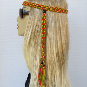 STIR IT UP Rasta braided headband