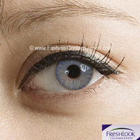 Freshlook Brilliant Blue Contact Lenses - 2 x Lenses (1 Pair)