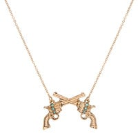 Bang, Bang Pop Necklace - Gold