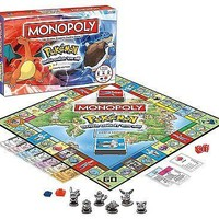 Monopoly: Pokemon Kanto Edition Board Game